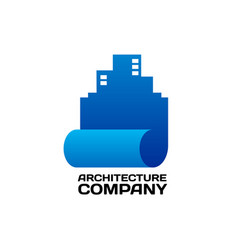 logo template for architecture vector image vector image
