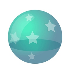 icon ball vector image