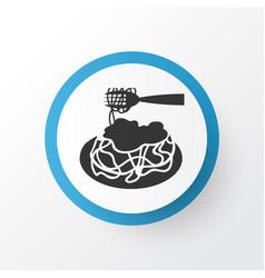 Pasta bolognese icon symbol premium quality vector