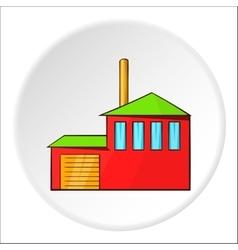 Preparation of beer icon cartoon style vector
