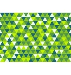 Retro triangle pattern dream in color vector