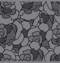 seamless repeating pattern of roses vector image