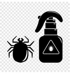 Spray icon simple black style vector