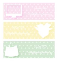 computer box bag vector image
