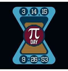 Pi Day T-shirt Typography Graphics vector image vector image
