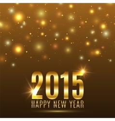 Happy New Year 2015 celebration background vector image