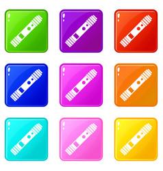 Battery mod for electronic cigarette set 9 vector