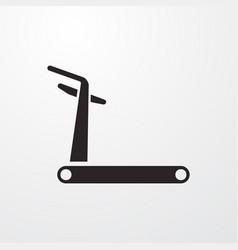 Bike trainer icon vector