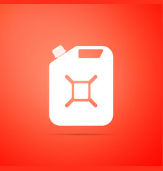 canister for gasoline icon diesel gas icon vector image