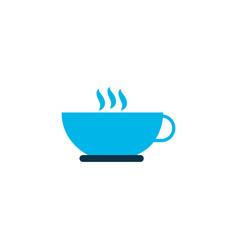 coffee icon colored symbol premium quality vector image