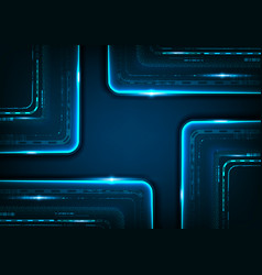 digital technology futuristic background to vector image