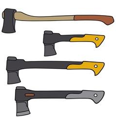 Modern axes vector
