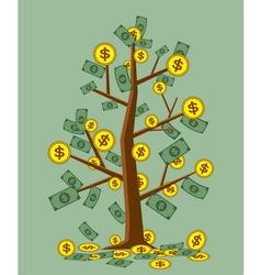 Tree money vector