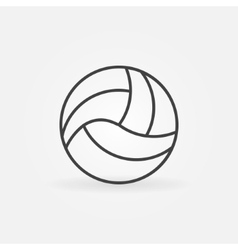 Volleyball icon or logo vector