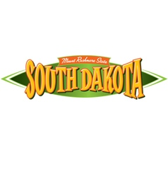 South Dakota Mount Rushmore State vector image