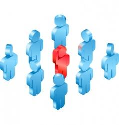 volunteer concept vector image