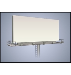 Detailed billboard vector image vector image