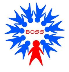 Boss symbol vector