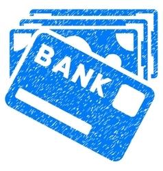 Credit money grainy texture icon vector