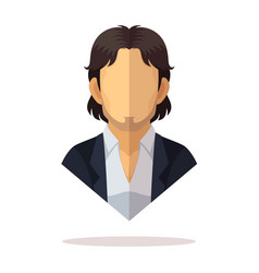 Mexican men avatar vector
