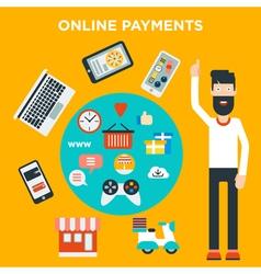 Online Payments vector