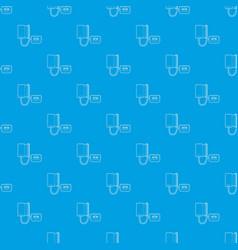 tonometer pattern seamless blue vector image