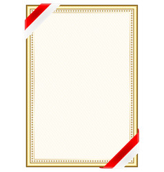 Vertical frame and border with indonesia flag vector