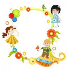 children card vector image vector image