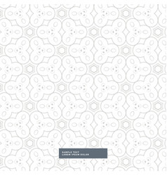 Light gray abstract shapes pattern design on vector