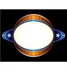 sphere neon vector image vector image
