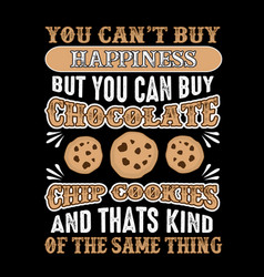food and drink quote good for print design vector image