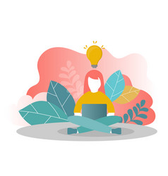 online assistant at work vector image