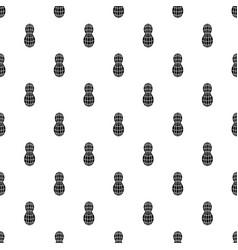 Raw peanut pattern seamless vector