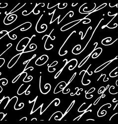 Seamless hand drawn background vector