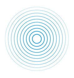 sound wave background radio station signal vector image