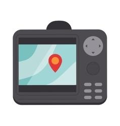Navigator screen vector image