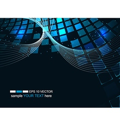 Abstract technology futuristic background business vector image