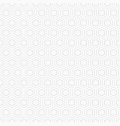 Abstract seamless geometric pattern of hexagons vector