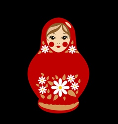 Babushka doll vector