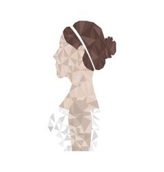 bride icon image vector image