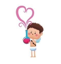 cupid cartoon icon vector image