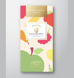 dried fruits label packaging design layout vector image
