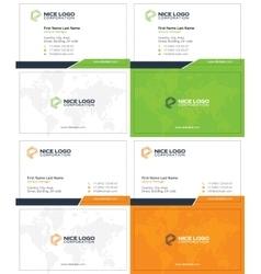 El business card 1 vector