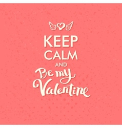 Valentine Concept on Abstract Pink Background vector image