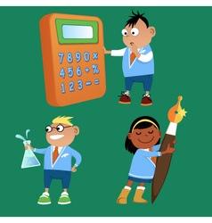 Elementary school vector image vector image
