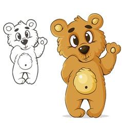 teddybear vector image