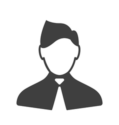 Consultant icon vector image