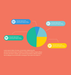 Diagram concept business infographic vector