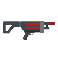Game gun icon isolated vector