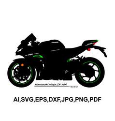 Kawasaki ninja zx 10r vector